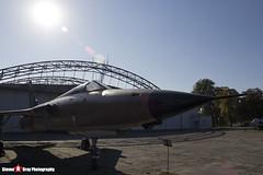 59-1822 RE - D92 - USAF - Republic F-105D Thunderchief - Polish Aviation Musuem - Krakow, Poland - 151010 - Steven Gray - IMG_9820