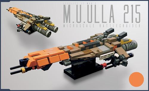 M.U.ULLA 215 in Microscale