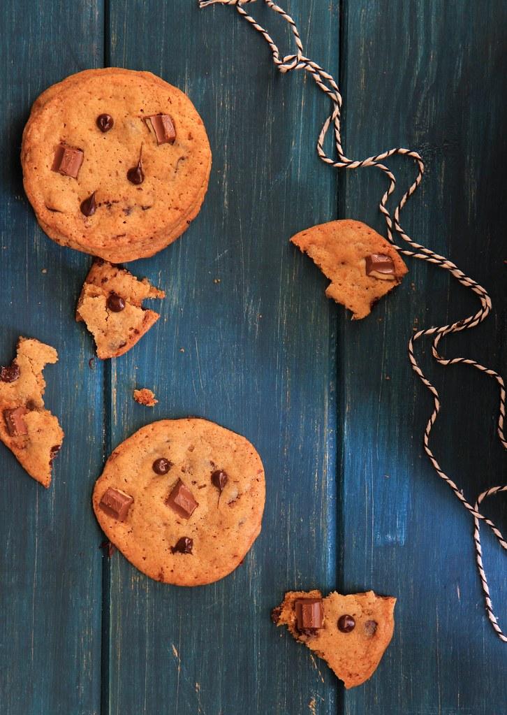 receita de cookie de chocolate