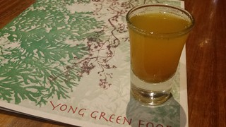 Turmeric Detox Shot from Yong Green