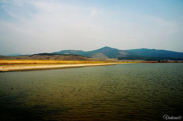 Solenoe ozero. Barguzinskaya dolina. Buryatia