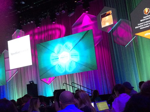 About to kick off #sfsummit with the opening keynote.