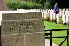 Acheux British Cemetery - The Somme