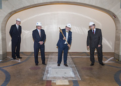 East Side Access: Ceremonial Floor Breaking at Grand Central Terminal