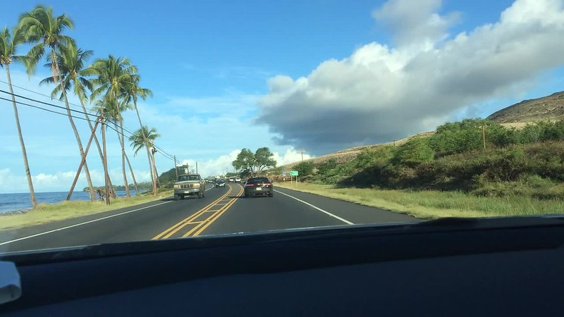 Driving to Lahaina with Third Eye Blind playing. Such a mix of emotions.