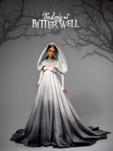The Lady of the Bitter Well. Ooak AA Version