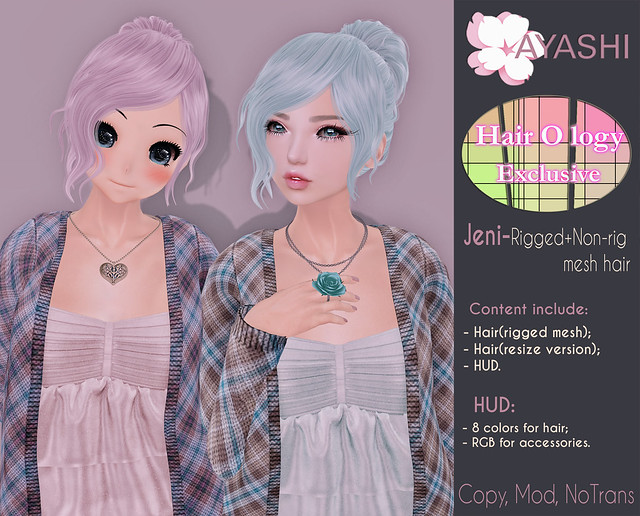 [^.^Ayashi^.^] Jeni hair special for Hairology