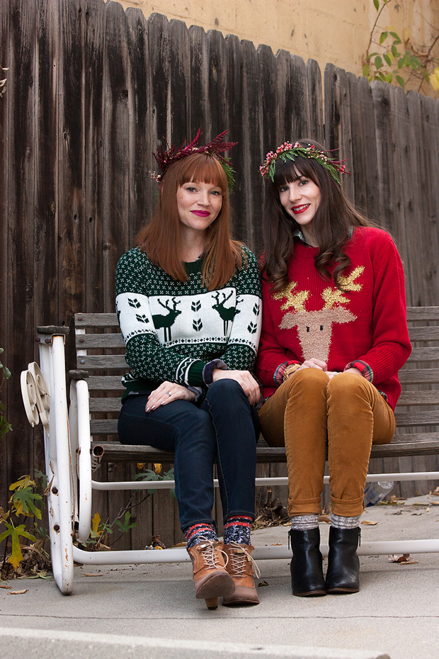 Boohoo Christmas Sweater, Ugly Christmas Sweater