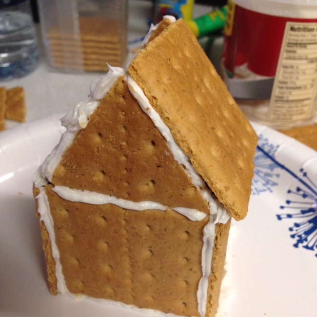 'Gingerbread' house step-by-step, 10