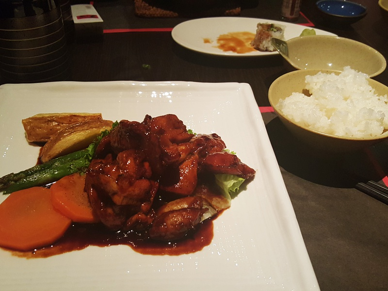 Nami Japanese chicken teriyaki