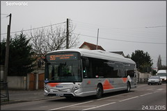 Heuliez Bus GX  337 - Cars Lacroix / STIF (Syndicat des Transports d'Île-de-France) – Valoise n°1009