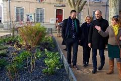 mar, 01/12/2015 - 11:58 - place De Lattre de Tassigny - place De Lattre de Tassigny  création d'un jardin
