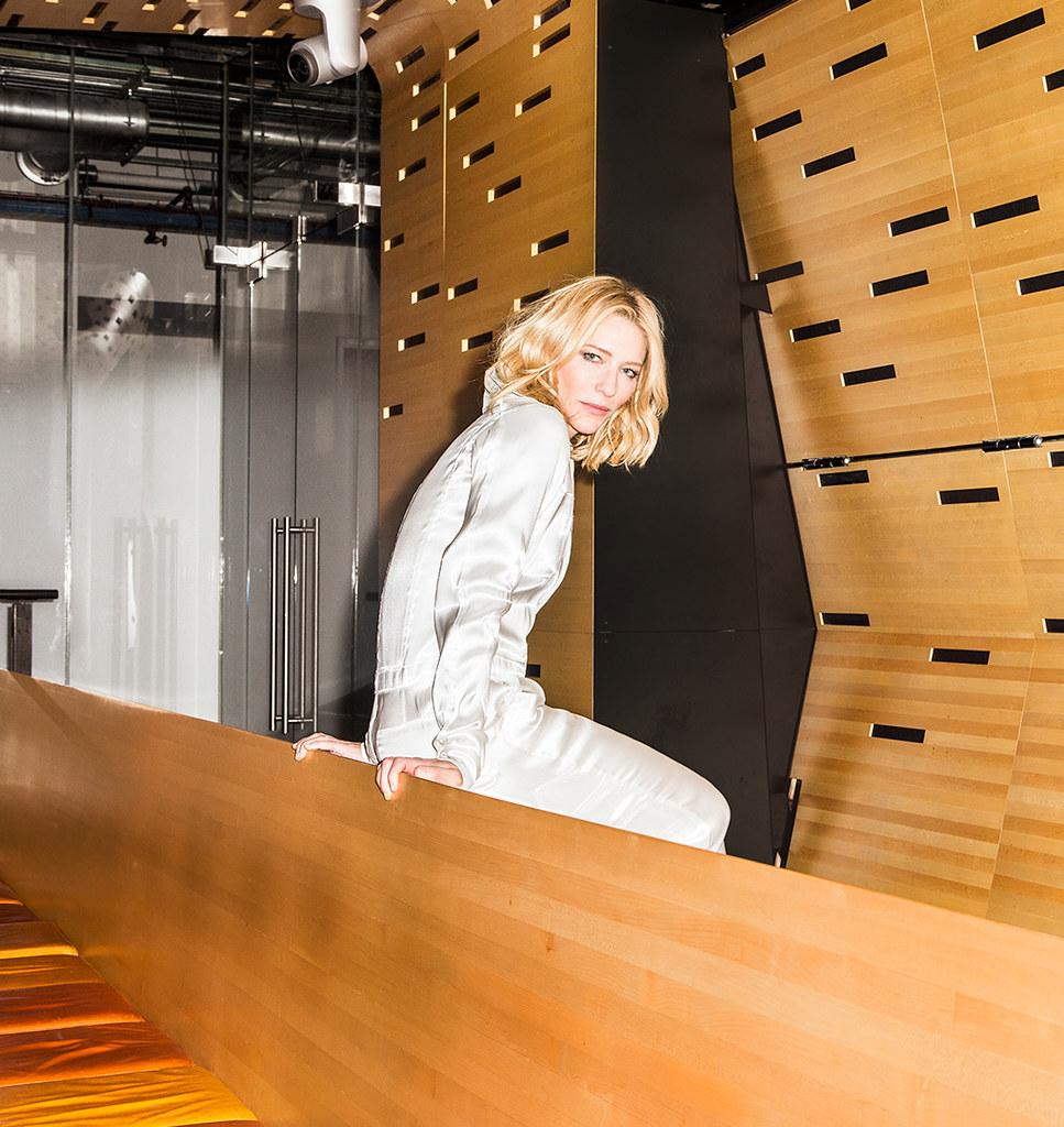 Кейт Бланшетт — Фотосессия для «DuJour» 2015 – 1