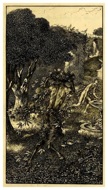 007-The sensitive plant-1899- ilustrado por Laurence Housman