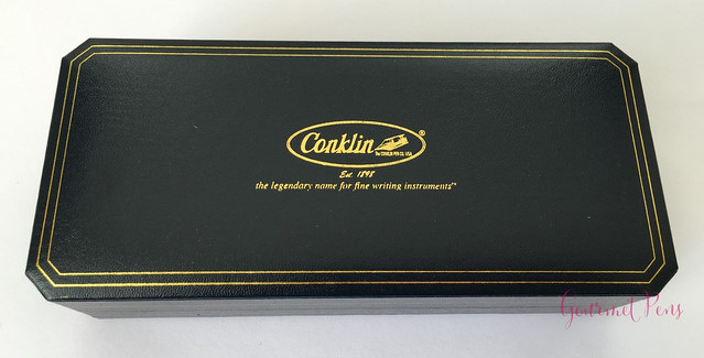 Review Conklin Duragraph Fountain Pen - 1.1 mm Stub @GouletPens (2)
