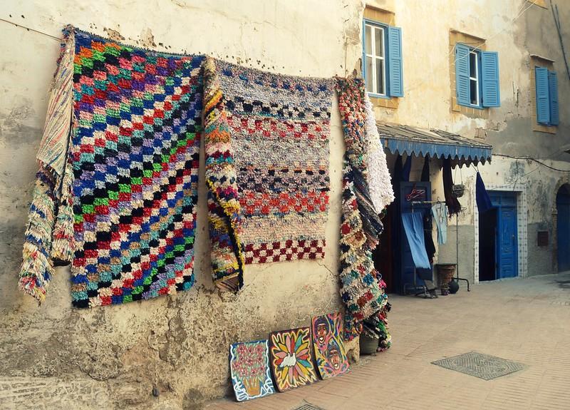 alfombras en la pared