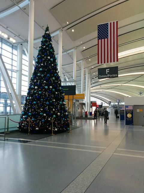 Terminal 1 Christmas tree