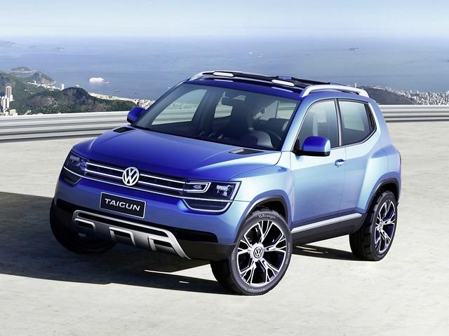 Компактный кроссовер Volkswagen Taigun Concept. 2012 год