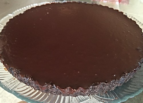Chocolate Glazed Tart