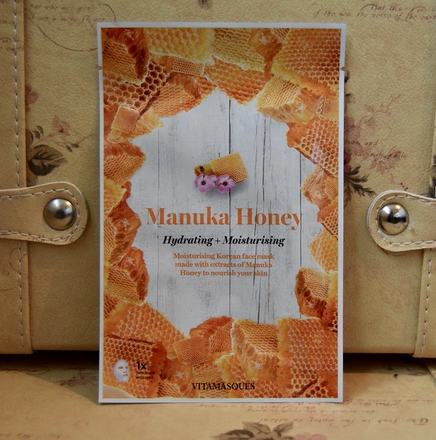 Vitamasques - Manuka Honey face mask