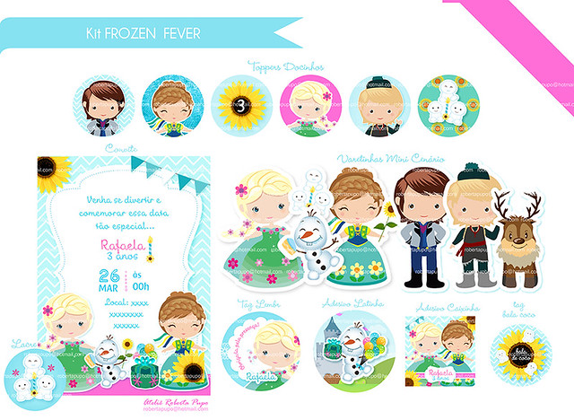 Kit Frozen Fever_Rafaela