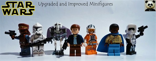 Star Wars - Upgraded and Improved Minifigs