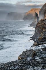 Trælanípa, Vágar, Faroe Islands.
