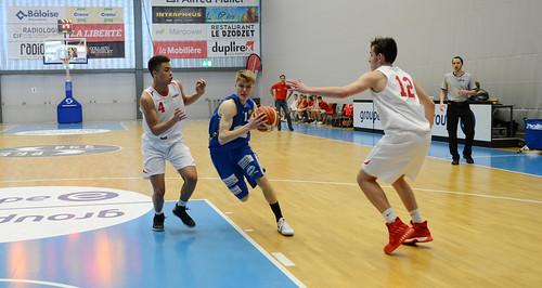 Grande Finale Fribourg Académie U16m -  Swiss Central Basket 16