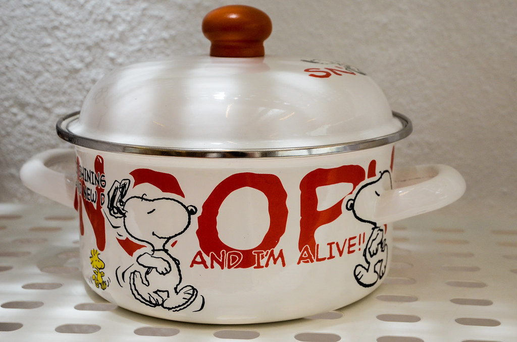 Snoopy Pot at GO Steamboat