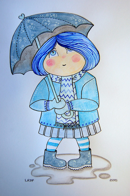 11 - Renoir - Umbrella - Laura