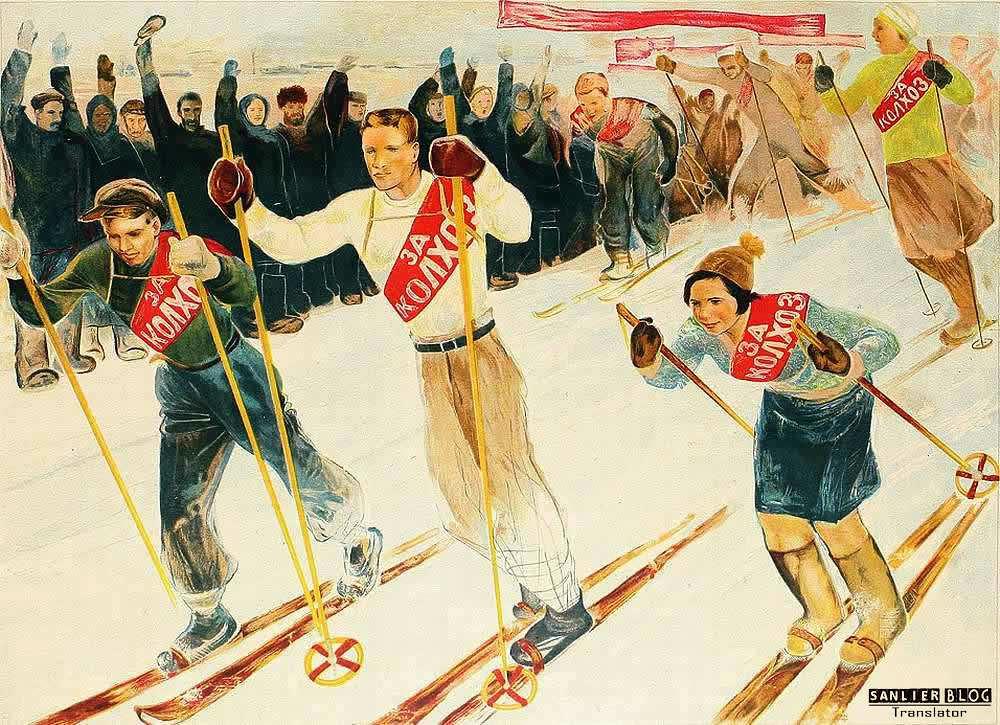 苏联20、30年代各类宣传画17