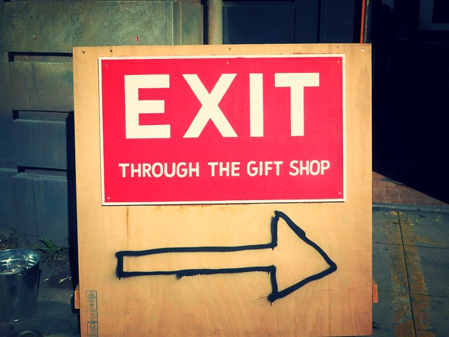 exit through the gift shop, banksy, dismaland, weston super mare