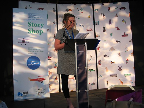Alison Gibson reading at Storyshop