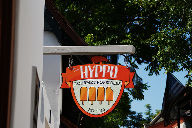 The Hyppo sign