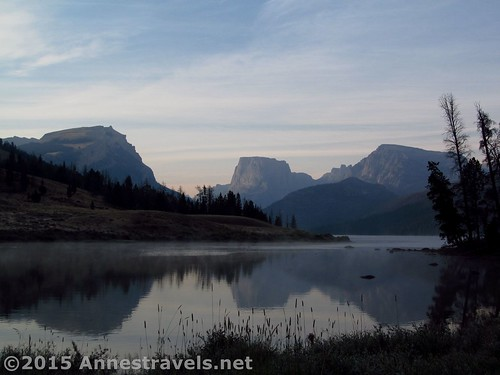 Early morning at the Green River Lakes, Wind River Range, Wyoming