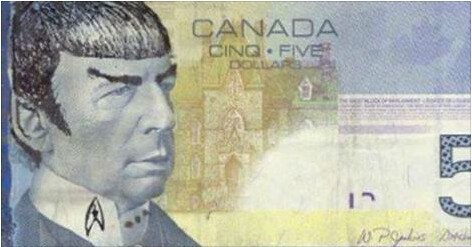Bank of Canada Spock note