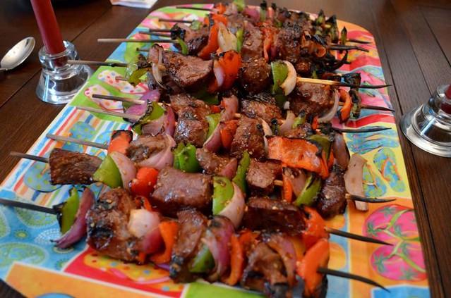 BeefTeriyakiKebabs