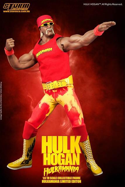 Storm Collectibles【霍克.霍肯】摔角界的綠巨人浩克 Hulk Hogan 1/6 比例人偶作品