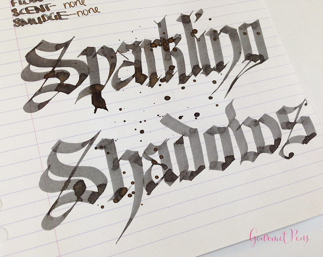 Ink Shot Review Diamine Sparkling Shadows (9)