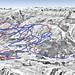 Mapa Lenzerheide - Valbella