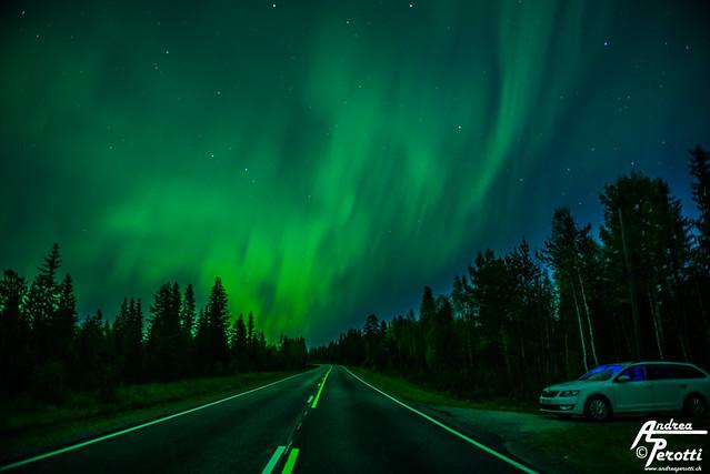 Rovaniemi Aurora Boreale