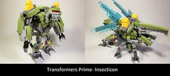 Lego Transformers Prime- Insecticon/ Hardshell