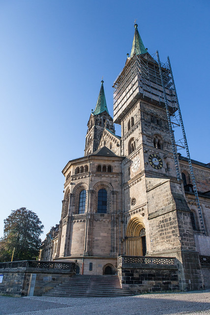 Cathedral (Bamberger Dom). Bamberg. Upper Franconia, Bavaria, Germany