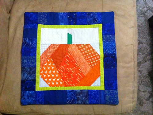 Finished Fall swap pillow