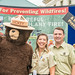 National Preparedness Month with Smokey Bear and Assistant Secretary for Administration Dr. Parham.