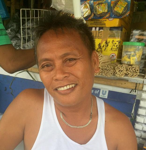 Isabel public market vendor Edmund M. Sillar
