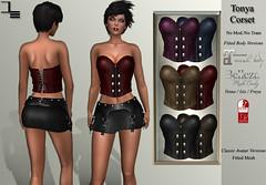 DE Designs Tonya Corsets
