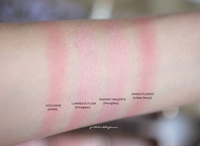Pink blushes swatches5