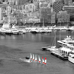 Harbor Monte Carlo sail boats