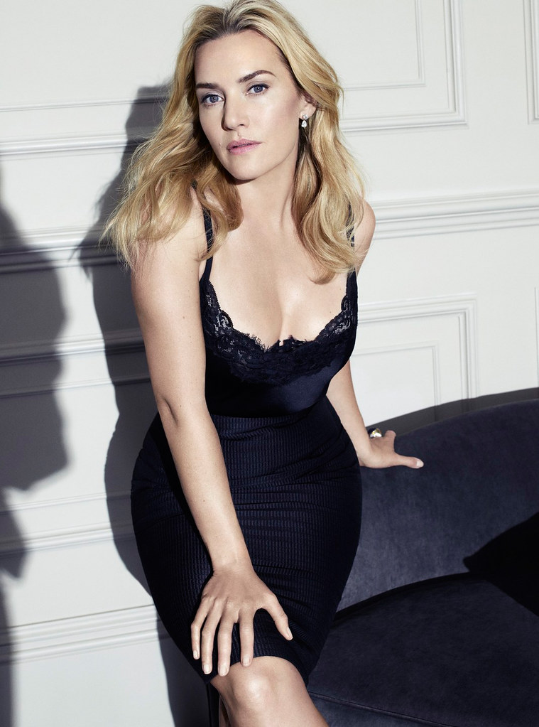 Кейт Уинслет — Фотосессия для «Elle» 2015 – 1